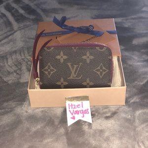 Louis Vuitton Fuschia Multicartes